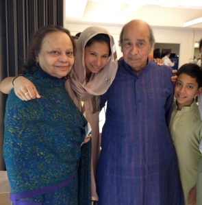 my parents, Eid 2012